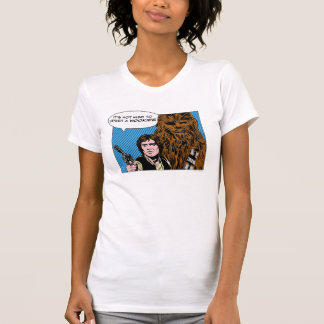 Chewie and Han Comic T Shirt