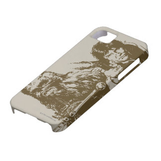 Chewie and Han Silhouette iPhone 5 Cases