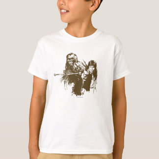Chewie and Han Silhouette Shirt