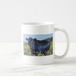 Chewing the cud basic white mug