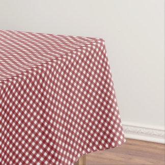 CHEX 10-WINE-COTTON TABLECLOTH 52x70in