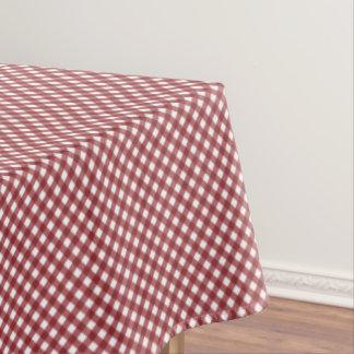 CHEX 10-WINE-COTTON TABLECLOTH 60x84in