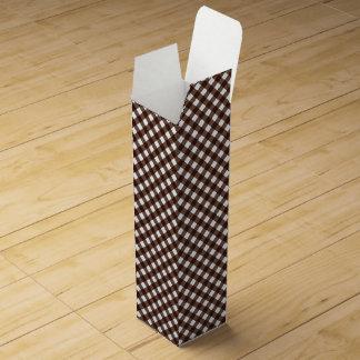 CHEX 13-DARK BROWN-WINE BOTTLE GIFT BOX WINE BOTTLE BOXES