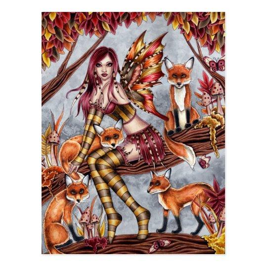 Cheyanna - Autumn Fairy Postcard
