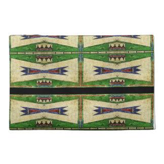 Cheyenne 1880's Parfleche design Travel Accessory Bag