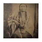 Cheyenne Indian Scout Nettie Bear Tile