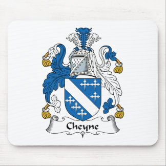 Cheyne Family Crest Mouse Pad