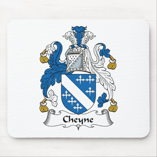 Cheyne Family Crest Mouse Pads