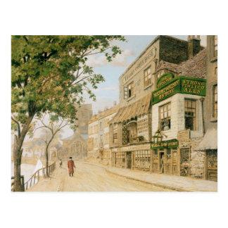 Cheyne Walk, Chelsea, 1857 Postcard
