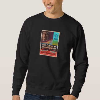 CHFU black The Curse of Frankenstein 3  sweatshirt