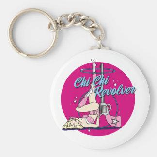 Chi Chi Revolver Hula Hoop Key Ring
