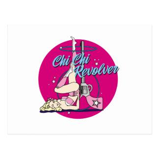 Chi Chi Revolver Hula Hoop Postcard