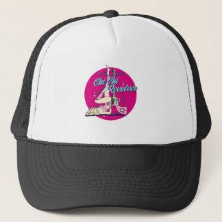 Chi Chi Revolver Hula Hoop Trucker Hat