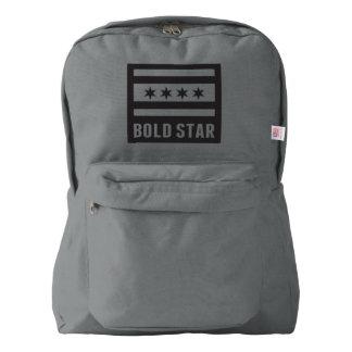 CHI Flag Bold Star Logo Backpack