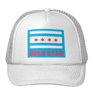 CHI Flag Bold Star Logo Trucker Hat