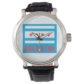 CHI Flag Bold Star Logo Watch