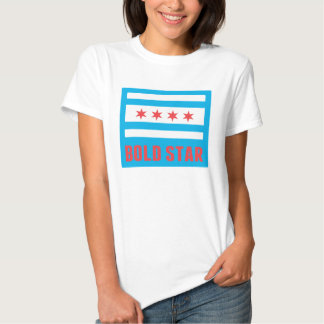 CHI Flag Bold Star Logo Women's Tee