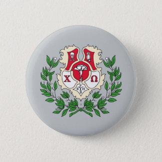 Chi Omega Crest 6 Cm Round Badge