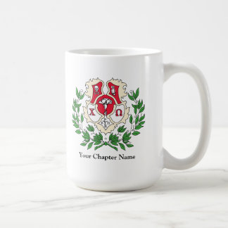 Chi Omega Crest Coffee Mug