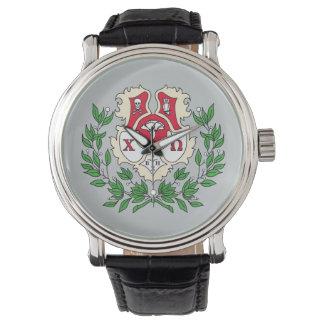 Chi Omega Crest Watch