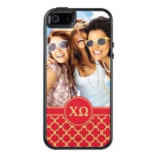 Chi Omega | Monogram and Photo OtterBox iPhone 5/5s/SE Case