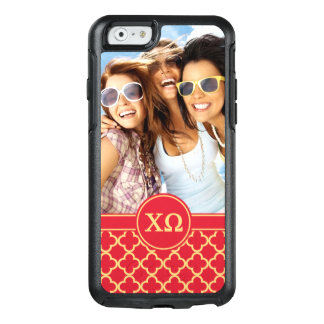 Chi Omega | Monogram and Photo OtterBox iPhone 6/6s Case