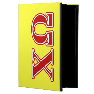 Chi Omega Red Letters iPad Air Cover