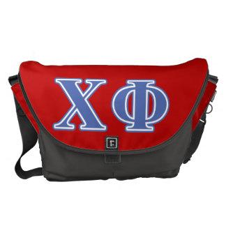 Chi Phi Blue Letters Commuter Bag