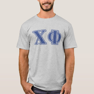 Chi Phi Blue Letters T-Shirt