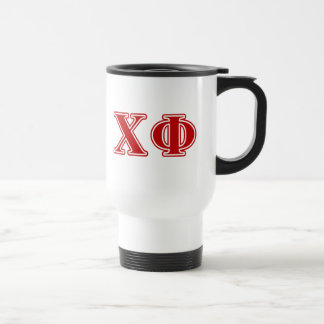 Chi Phi Red Letters Travel Mug