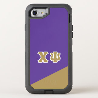 Chi Psi | Greek Letters OtterBox Defender iPhone 7 Case