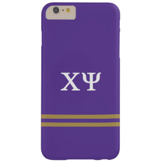 Chi Psi   Sport Stripe Barely There iPhone 6 Plus Case