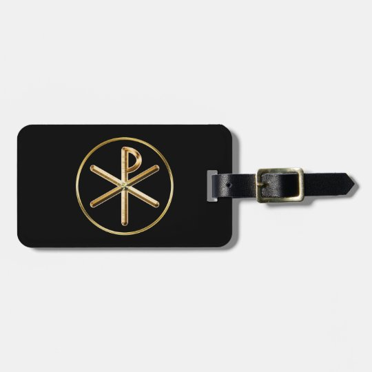 Chi-Rho glow Luggage Tag