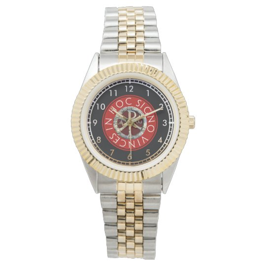 Chi Rho Symbol Watch