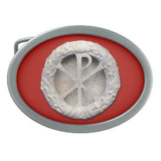Chi-Rho - The Monogram of Christ Belt Buckles