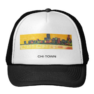 CHI-TOWN Truckers Cap