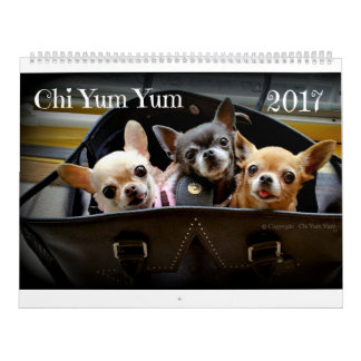 Chi Yum Yum 2017 Calendar