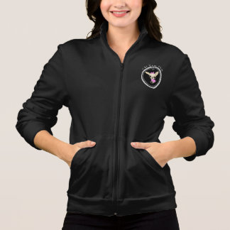 Chi Yum Yum Fleece Jacket - Black