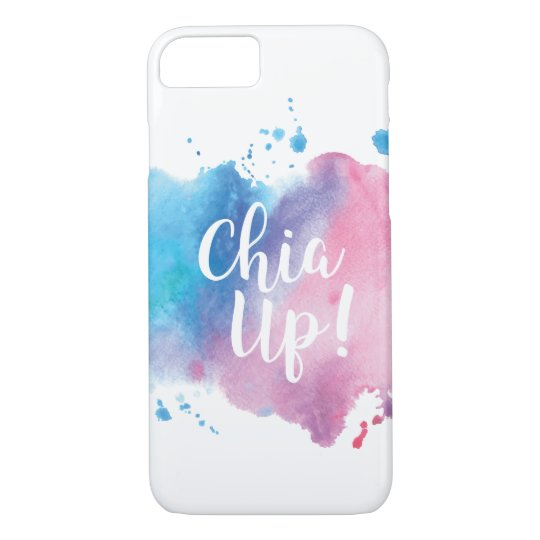 """""""Chia Up!"""" Phone Case Design"""