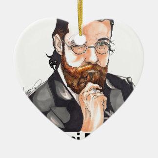Chiamarsi Bomber 2014 Ceramic Heart Decoration