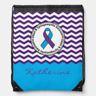 Chiari & Syringomyelia Awareness Drawstring Bag