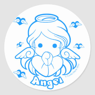Chibi Angel Sticker