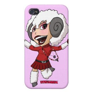 Chibi Aries iPhone 4 Cover