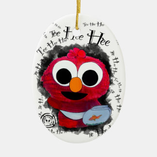 Chibi Baby Furry Monsta Christmas Ornaments