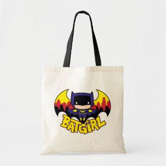 Chibi Batgirl With Gotham Skyline & Logo