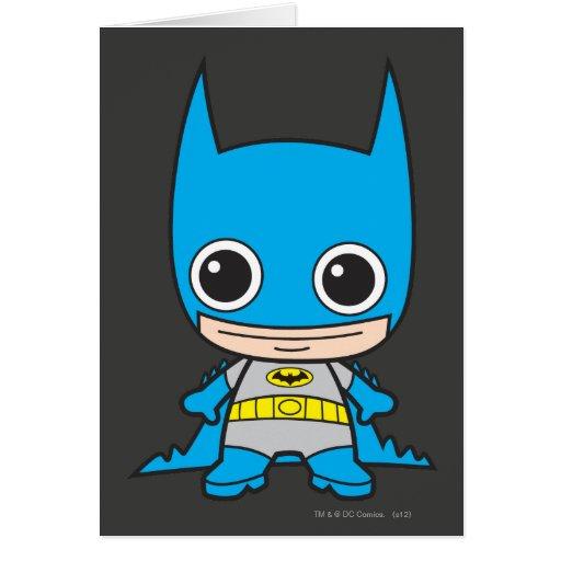Chibi Batman Cards