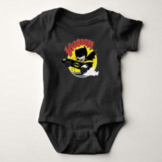 Chibi Batman In The Batmobile Baby Bodysuit