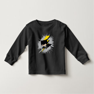 Chibi Batman Lightning Kick Toddler T-Shirt