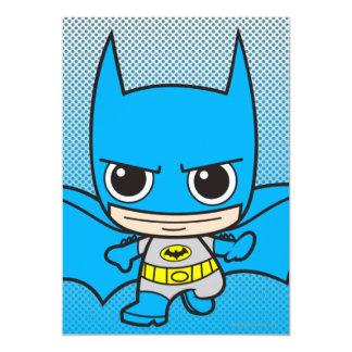 """Chibi Batman Running 5"""" X 7"""" Invitation Card"""