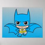 Chibi Batman Running Poster